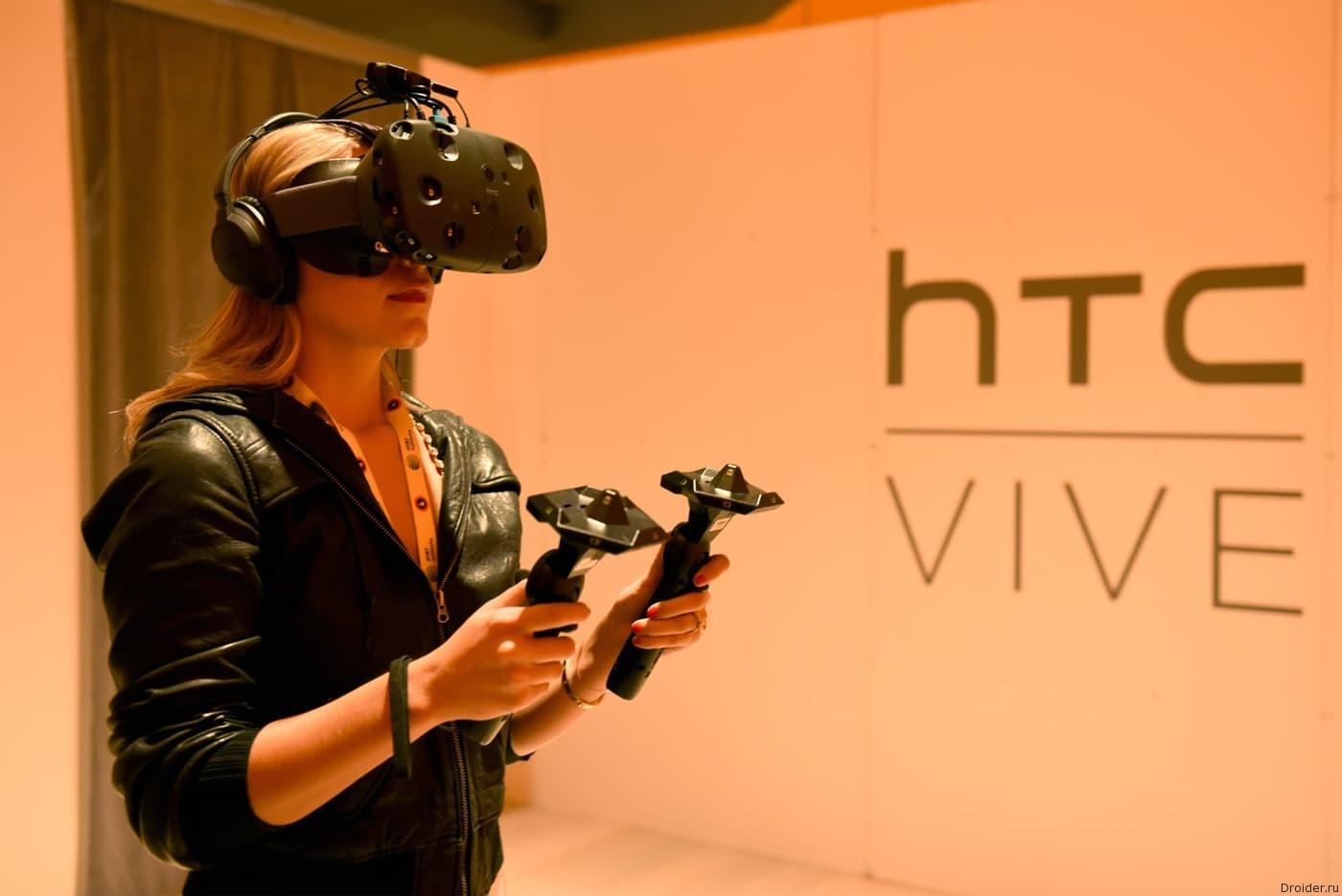 HTC откроет первый в мире магазин VR-контента