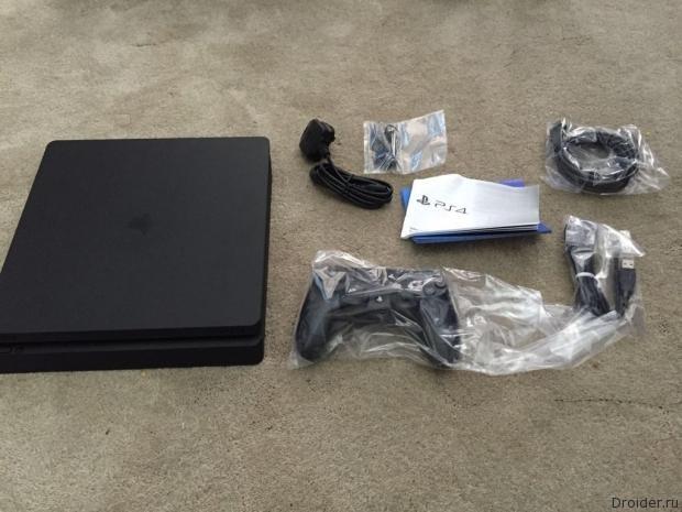 PS4 Slim комплектация