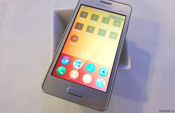 Samsung подогревает интерес к смартфону Z2 на Tizen OS