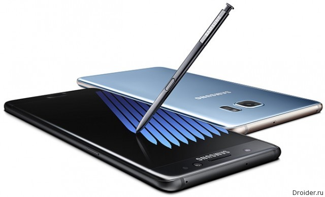 Galaxy Note 7 – фаблет со сканером радужки от Samsung