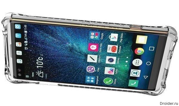 Смартфон V20 от LG со всех сторон, но в защитном чехле