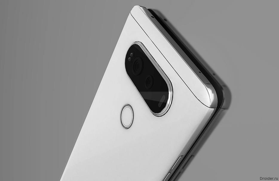 Смартфон V20 от LG удостоился всесторонних рендеров