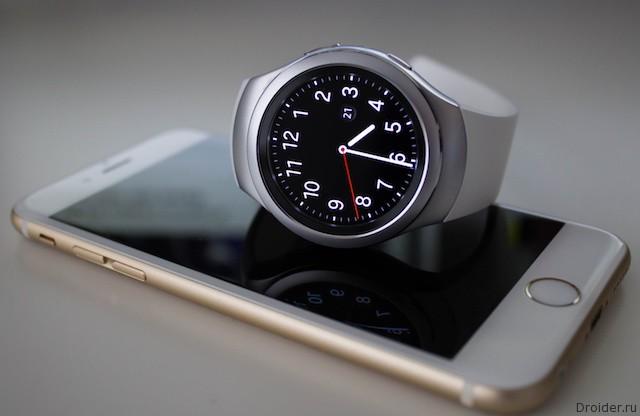 Samsung тестирует совместимость Gear S2 с iPhone