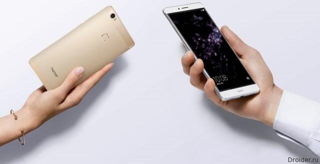 Huawei анонсировала флагманский фаблет Honor Note 8