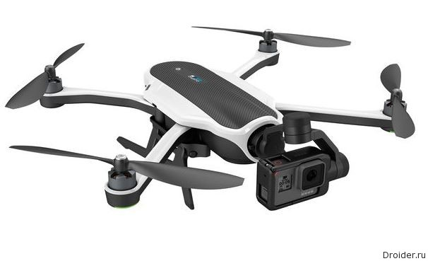 Karma от GoPro — квадрокоптер за 800 долларов