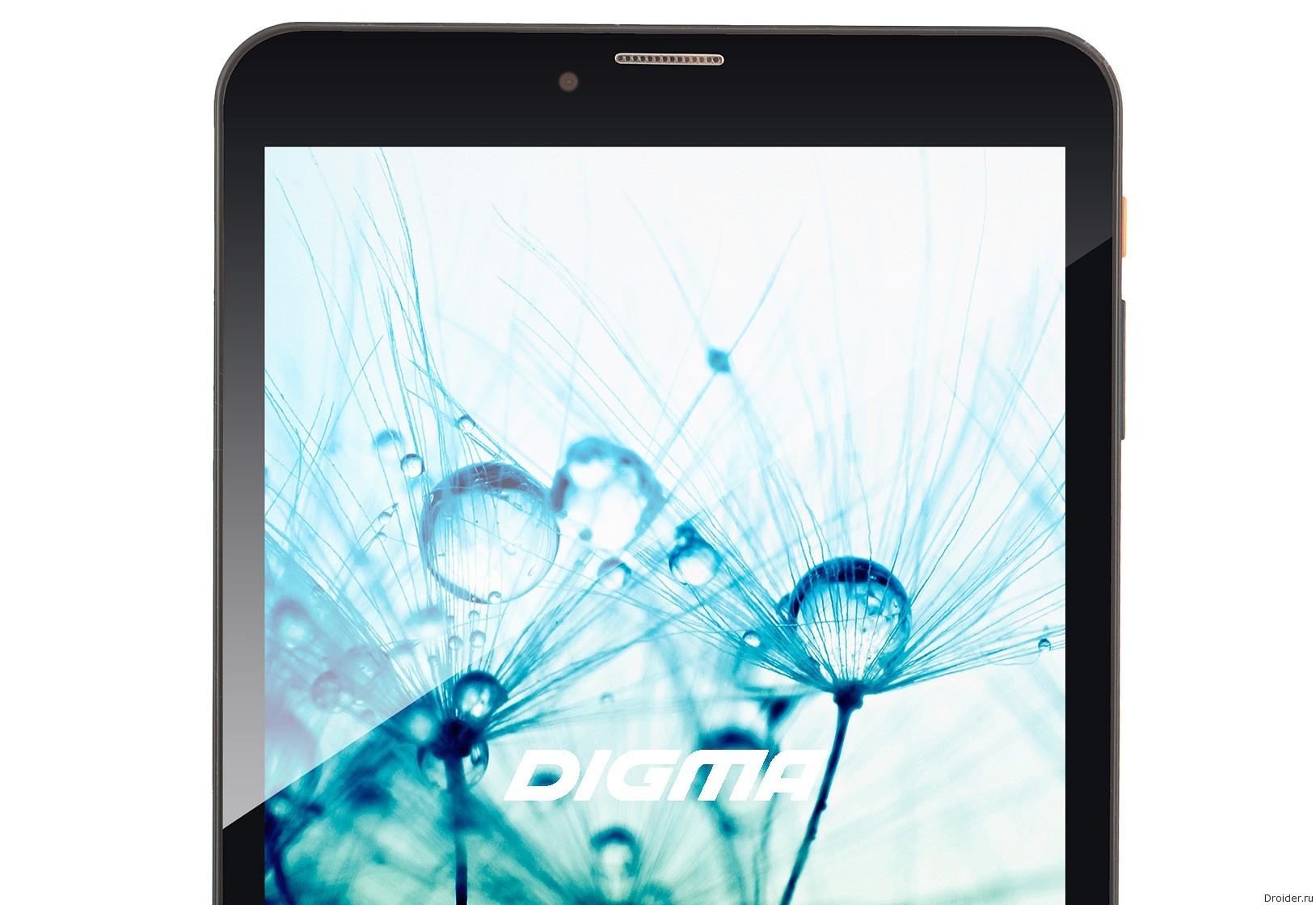 Digma анонсировала первый в мире планшет на Tizen OS