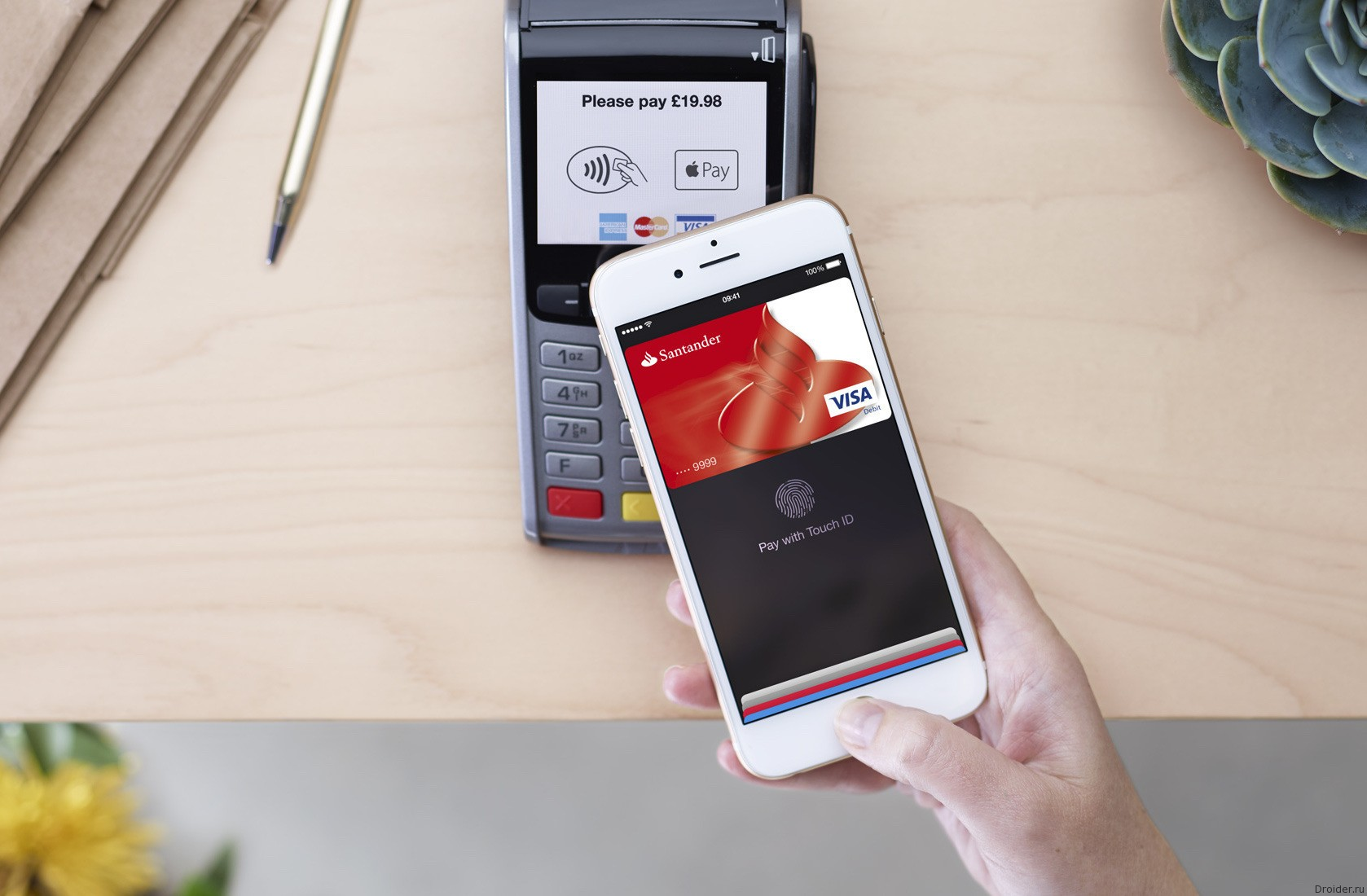 Apple Pay запустится в России в октябре