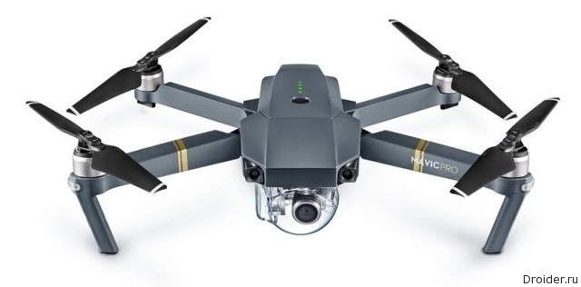 Mavic Pro от DJI - складной квадрокоптер с 4K-камерой |Android