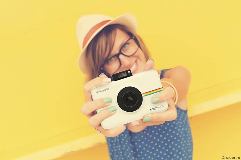 Polaroid представила камеру Snap Touch за 180 долларов