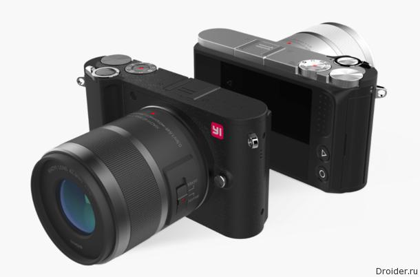YITechnology представляетYI M1: самую «контактную» беззеркальную камеру