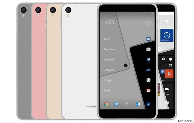 Nokia вернется с Android-смартфоном в дизайне C1 |Android