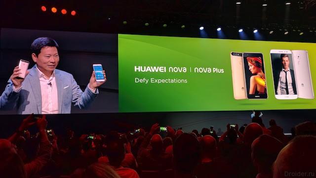 [IFA 2016] Смартфоны Nova и Nova Plus – камбэк Huawei в средней ценовой сегмент