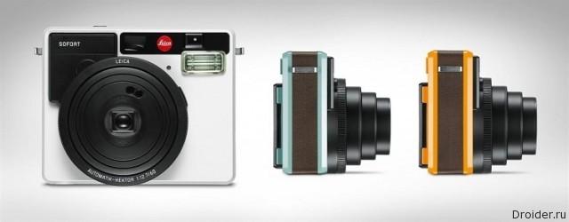 Leica возрождает моментальные снимки с камерой Sofort |Android