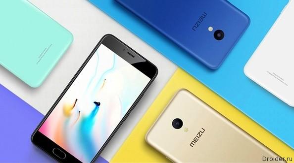 Meizu представила бюджетный смартфон Meizu M5