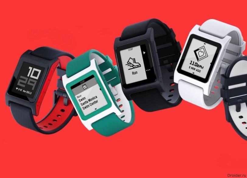 Heart Rate и SE – новые модификации смарт-часов Pebble 2