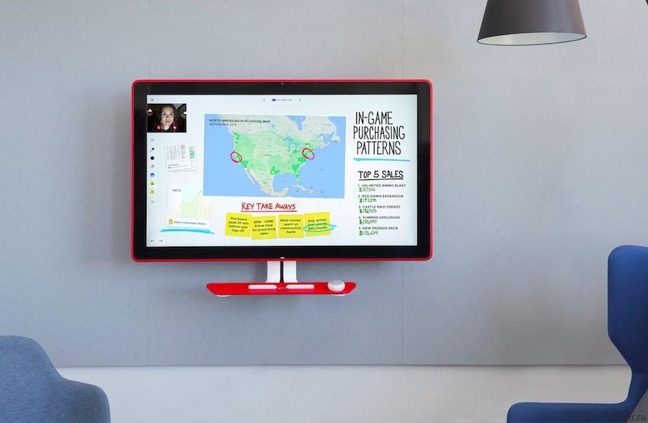 Jamboard от Google – 55-дюймовый моноблок для офиса