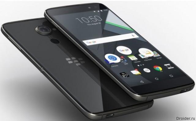 BlackBerry анонсировала Android-смартфон DTEK60 за 500 долларов