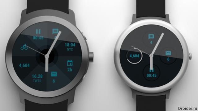 Часы отGoogle представят впервом квартале 2017 года