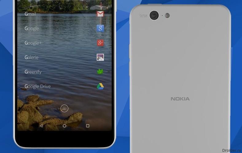 Nokia готовит смартфон P1 со Snapdragon 820 и защитой от воды