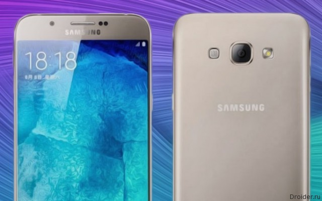 Galaxy A8 – «середнячок» 2016 года по версии Samsung