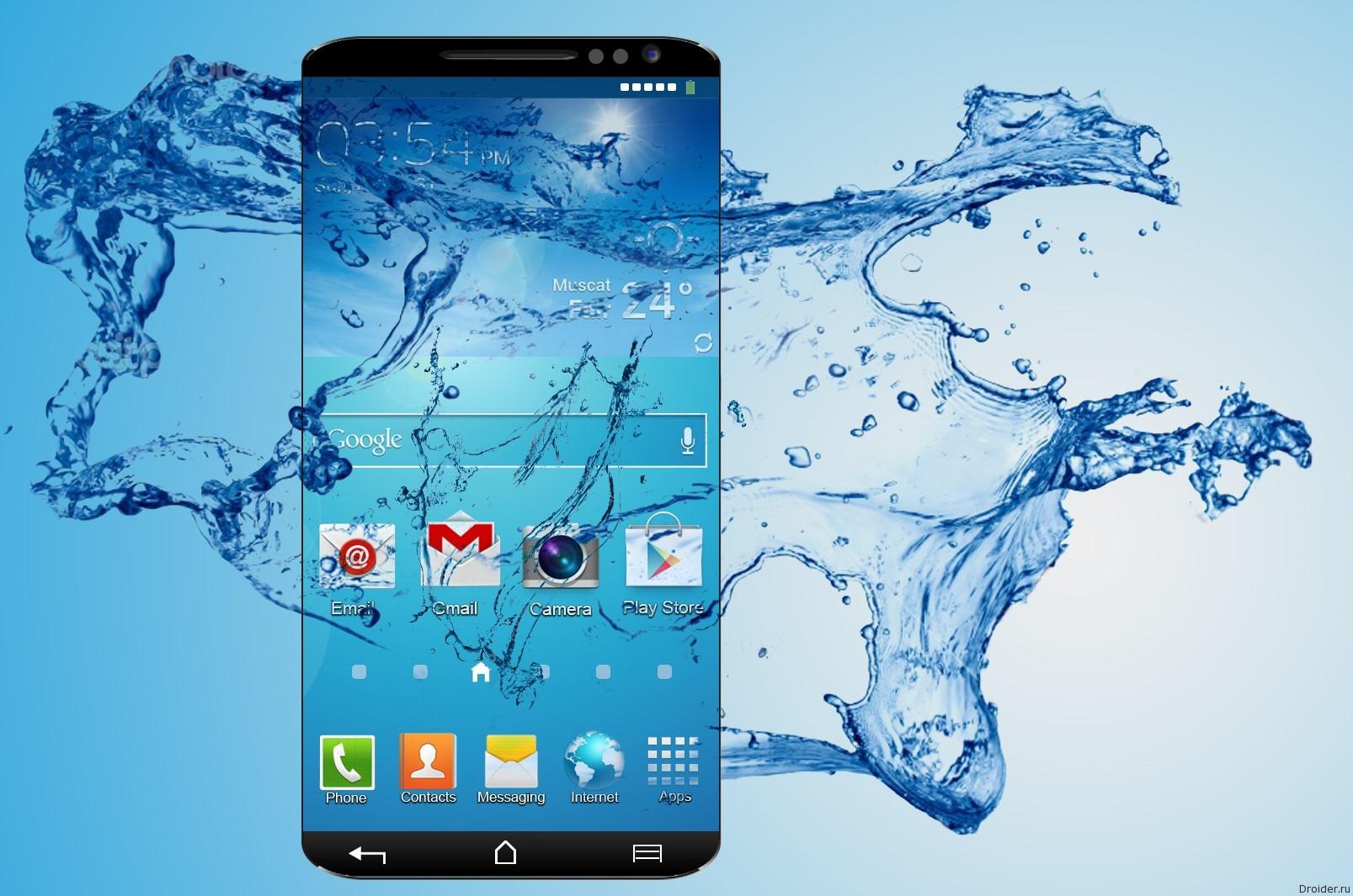 Samsung тоже может анонсировать безрамочный смартфон