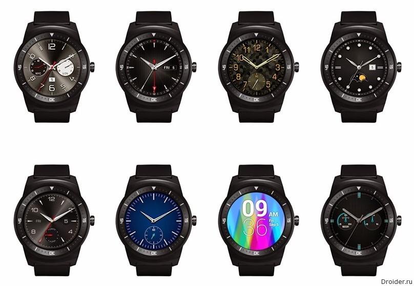 LG трудится над 4 моделями смарт-часов