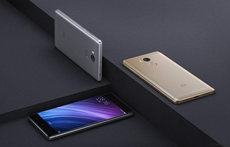 Redmi 4 и Redmi 4 Pro – компактные смартфоны в металлическом корпусе