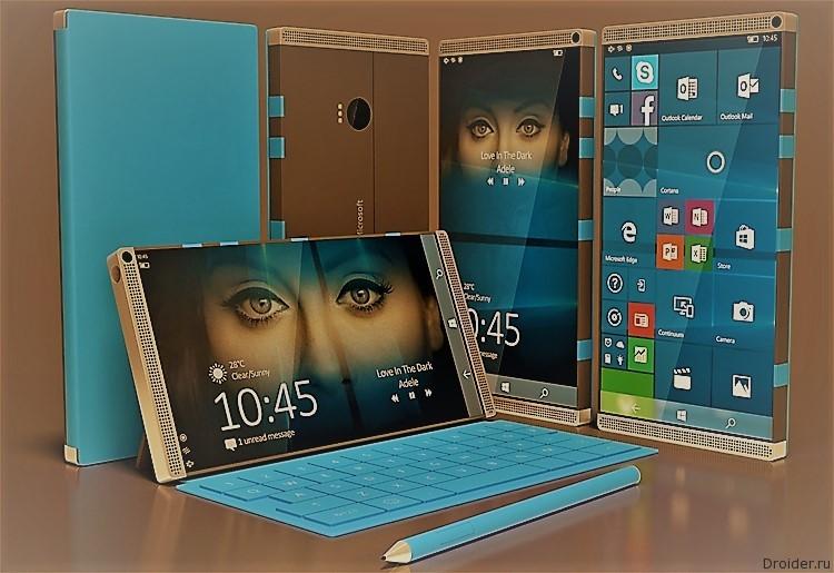 Microsoft готовит 2 версии Surface Phone