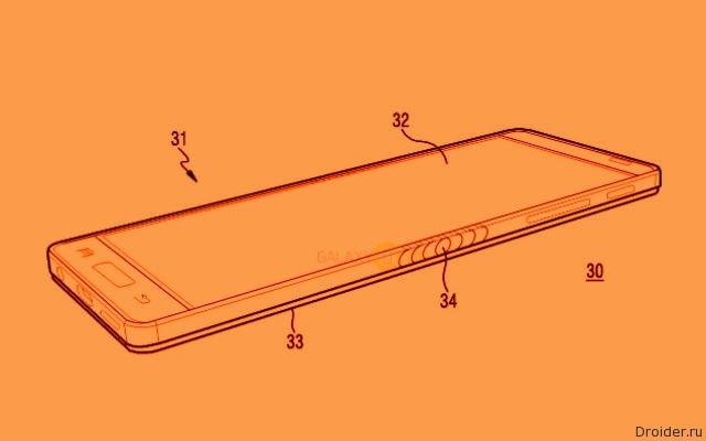 Сгибаемый смартфон Samsung оказался на рендерах