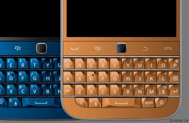 Появилось первое фото нового клавиатурника от BlackBerry