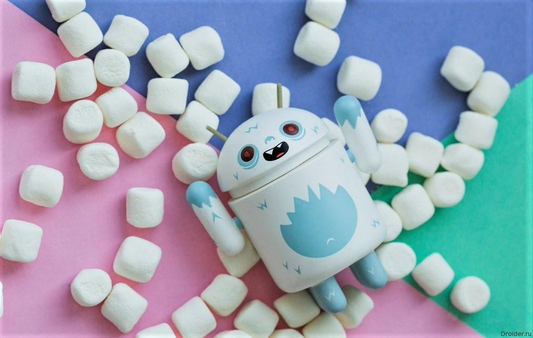 Android Marshmallow - самая популярная версия ОС от Google |Android