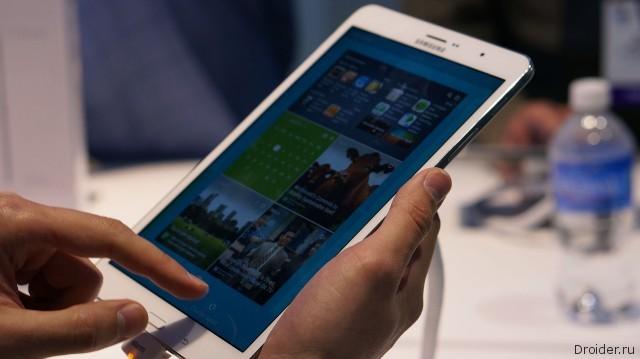 [CES 2014] Первый взгляд на Galaxy TabPRO 8.4 и Galaxy TabPRO 10.1