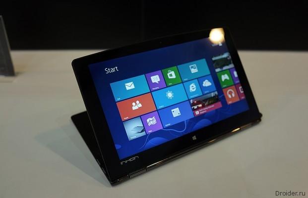 [Computex 2013] Inhon Carbon Tablet - или планшет или ноутбук