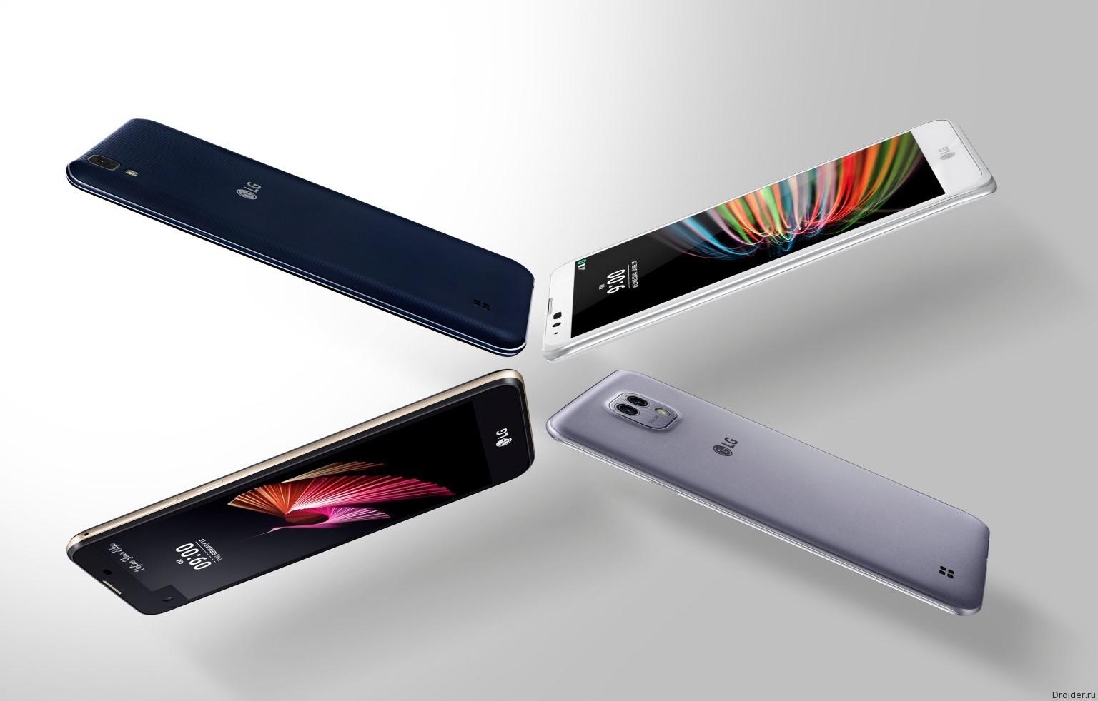 LG готовит 7 новых смартфонов для CES и MWC