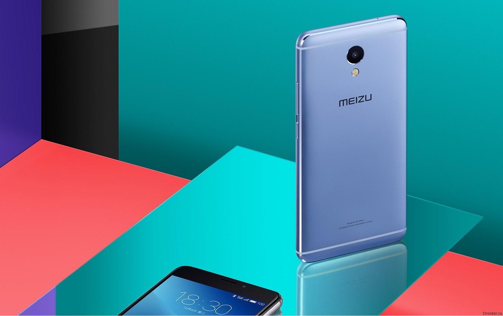 Meizu анонсировала металлический M5 Note за 130 долларов