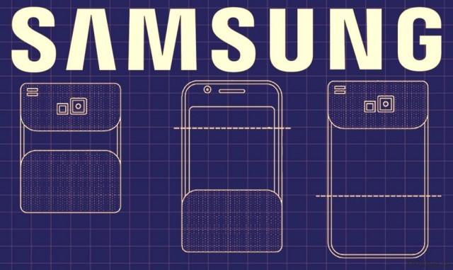 Складной смартфон Samsung оказался на снимке