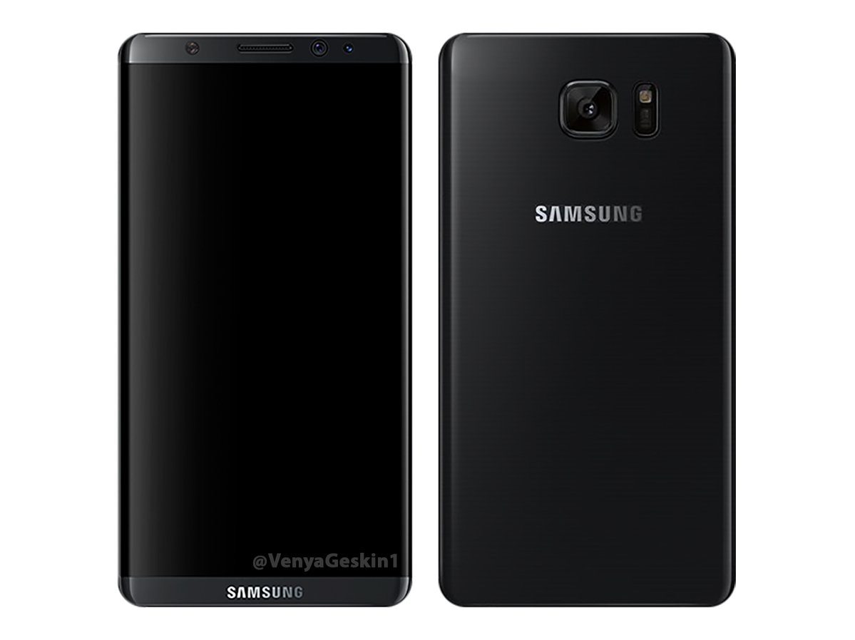 Galaxy S8 на рендерах