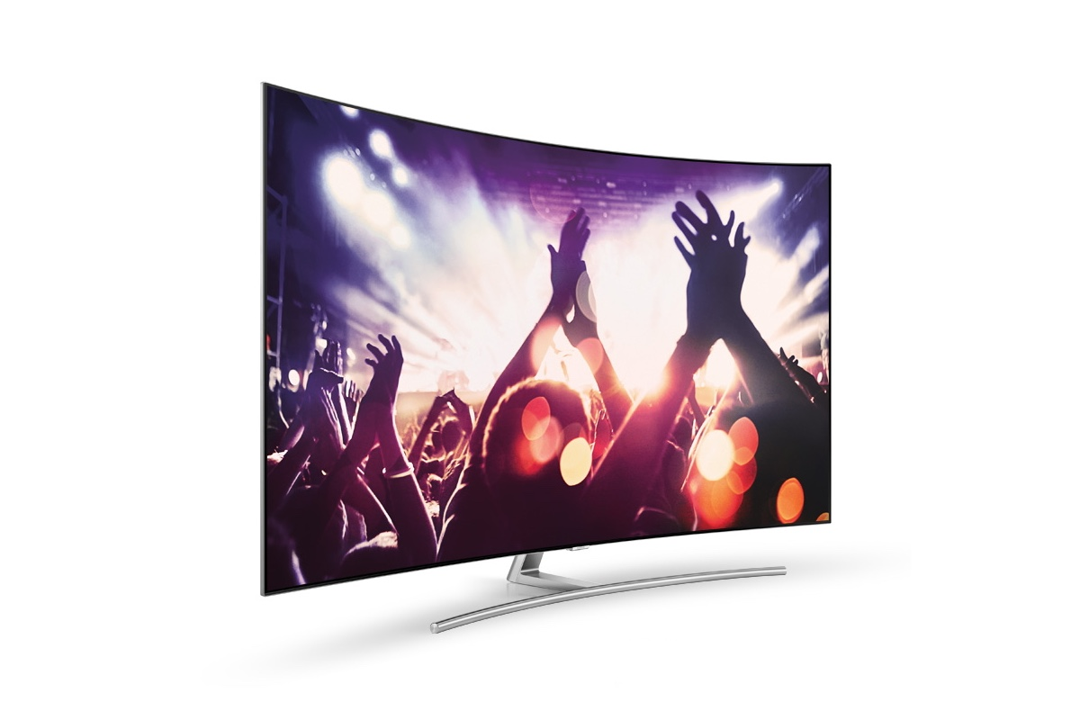 Яркое ТВ-трио от Samsung | CES 2017