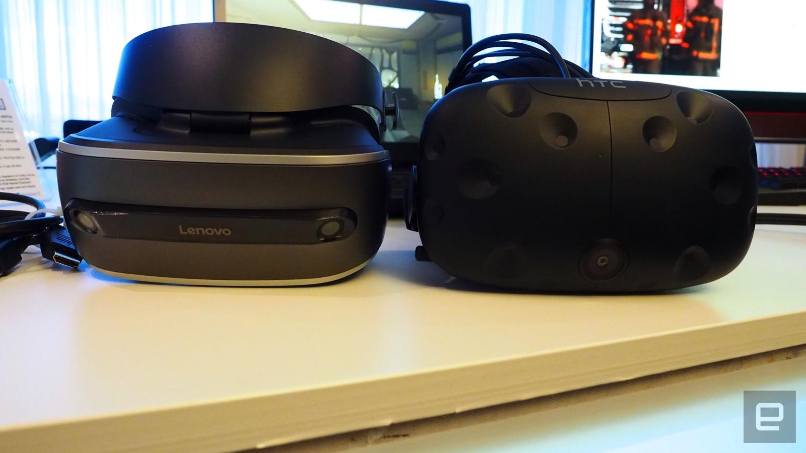 Lenovo готовит VR-шлем