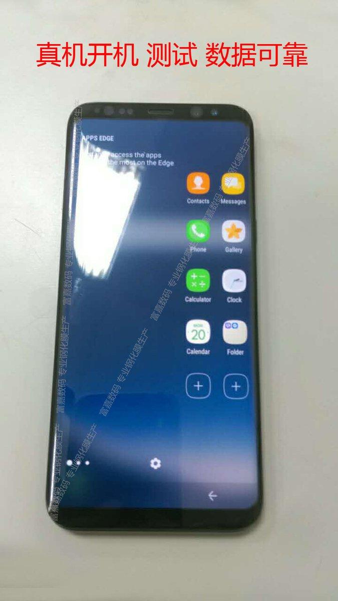 Galaxy S8 на «живых» снимках