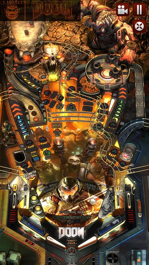 Пинбол в стиле Doom