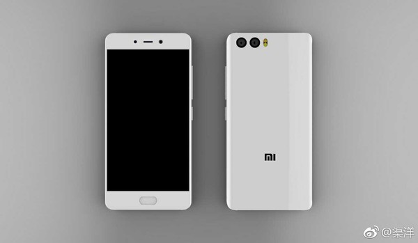 Белый флагман Xiaomi на рендерах
