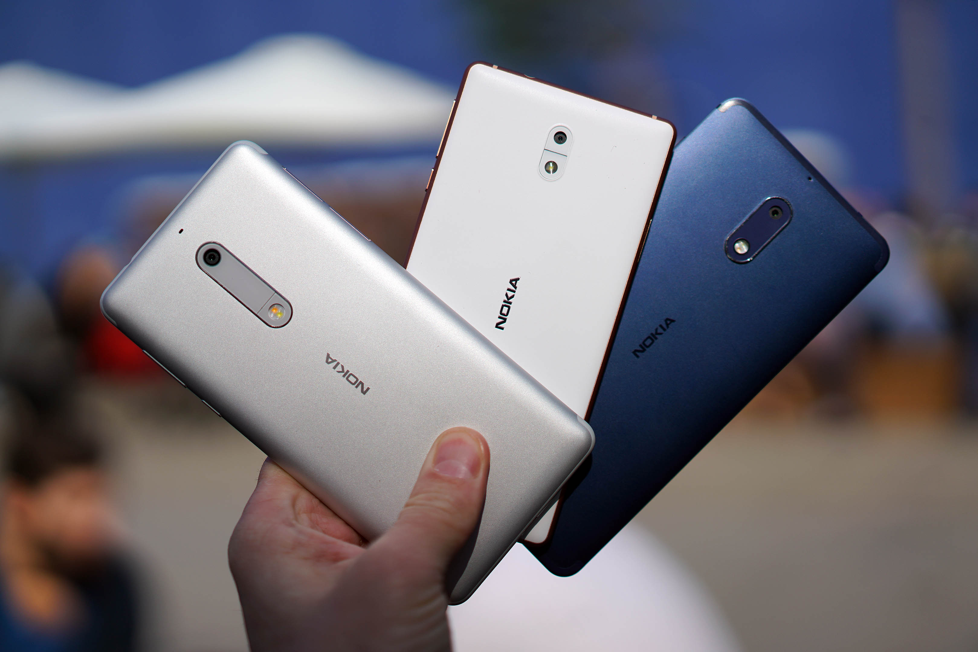 Сравнение Nokia 3, 5 и 6 | MWC 2017