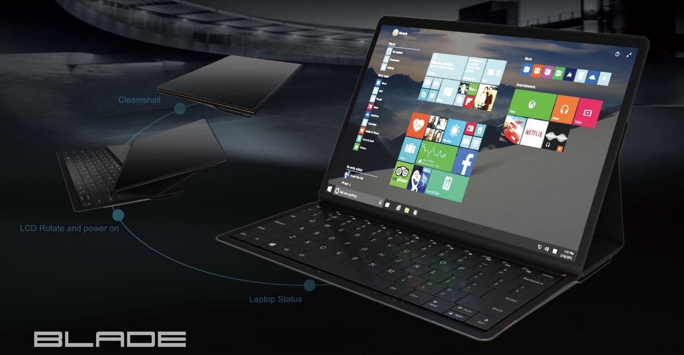 Концептуальный планшет Lenovo