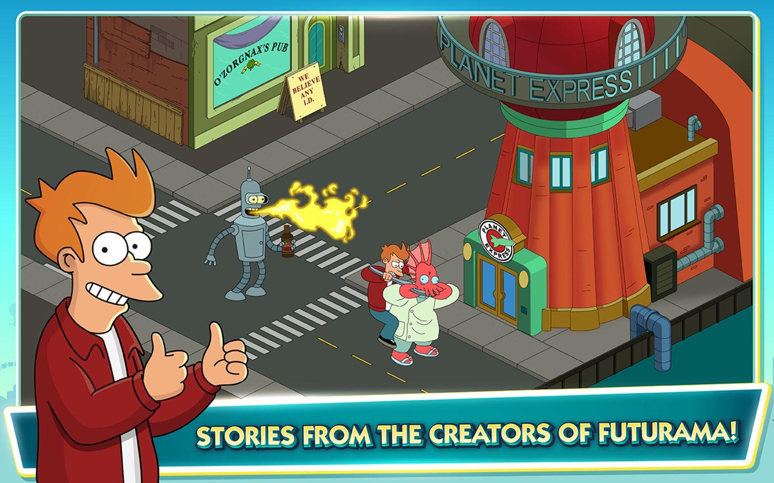 Первый трейлер игры по «Футураме»