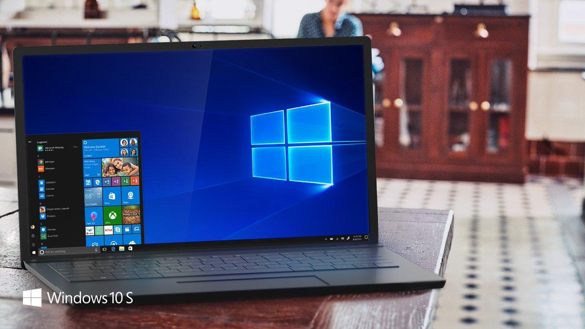 Windows 10 S — ОС для «слабых»