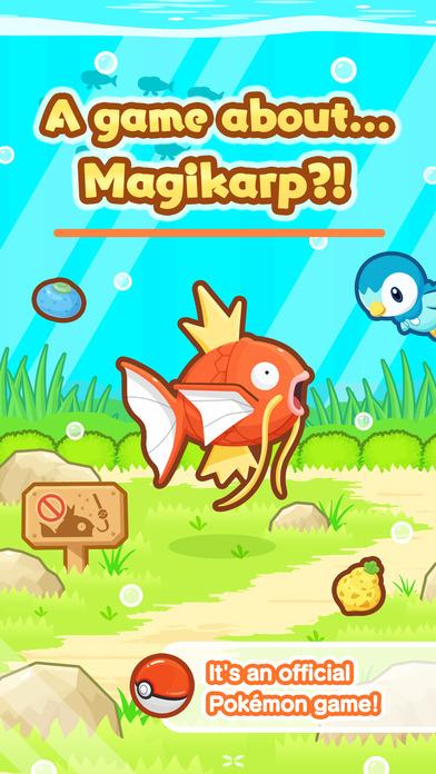 Magikarp Jump — новая игра про покемонов