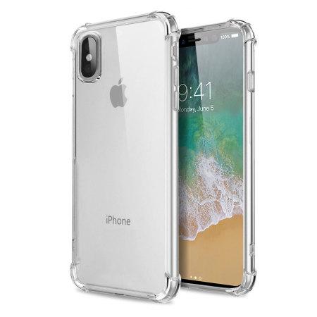 iPhone 8 в прозрачном чехле