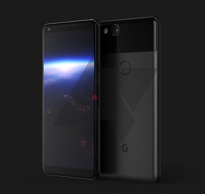 Pixel XL 2 на рендере