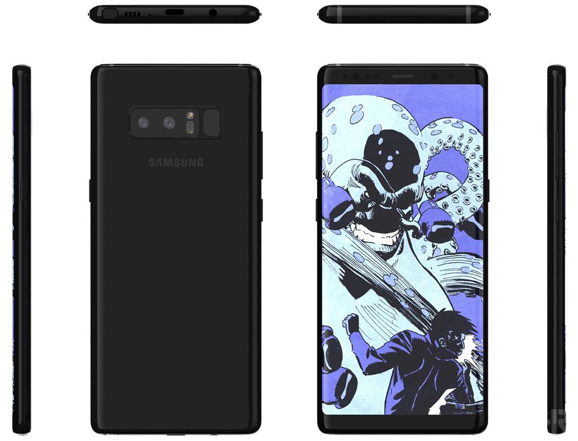 Анонс Galaxy Note 8 уже скоро